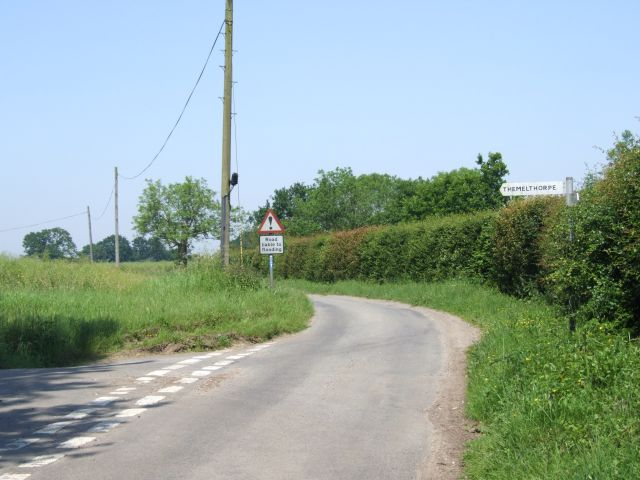 Junction on National Cycle Route, Kerdiston