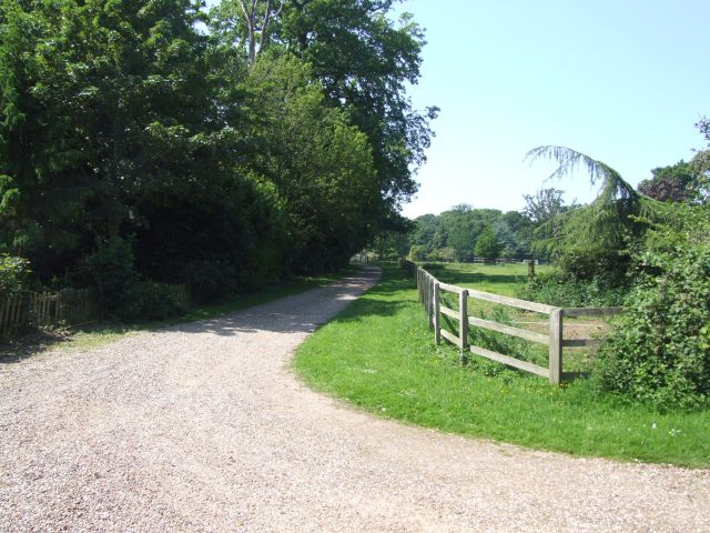 Driveway to Hackford Hall
