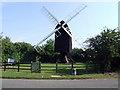 TL2755 : Great Gransden Mill by Jeff Tomlinson