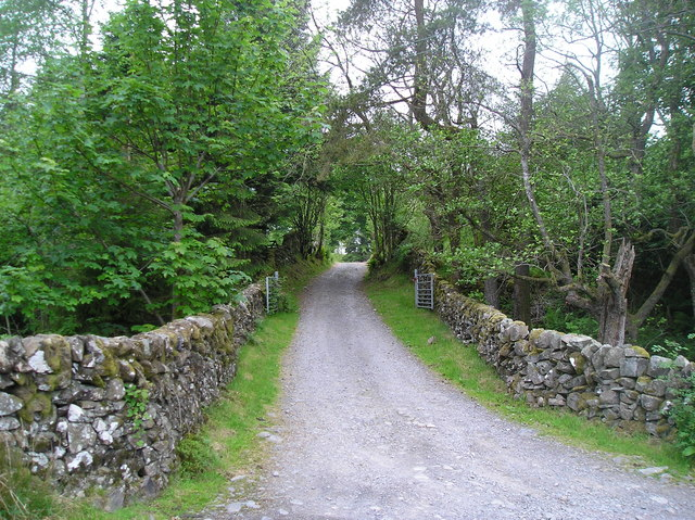 Entrance to Nether Craigenputtock