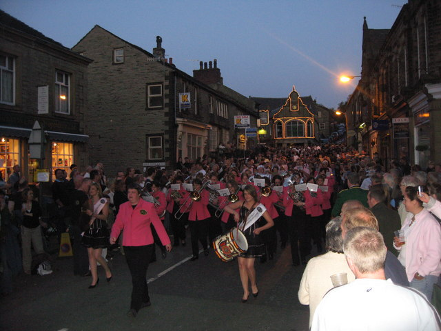 Boobs and Brass at Delph