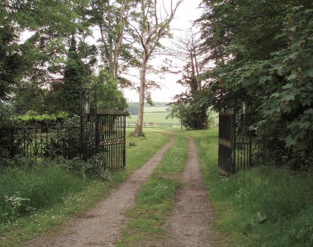 Temple House gateway