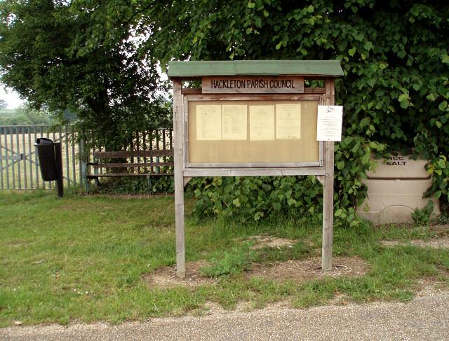 Horton notice board