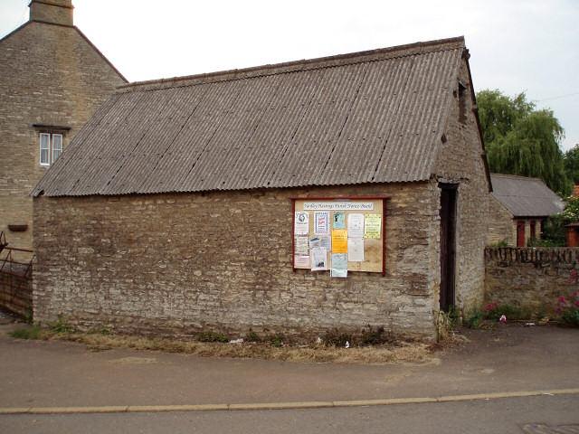 Yardley Hastings parish notice board