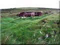 SN0132 : Mynydd Cilciffeth with old disc harrow by ceridwen