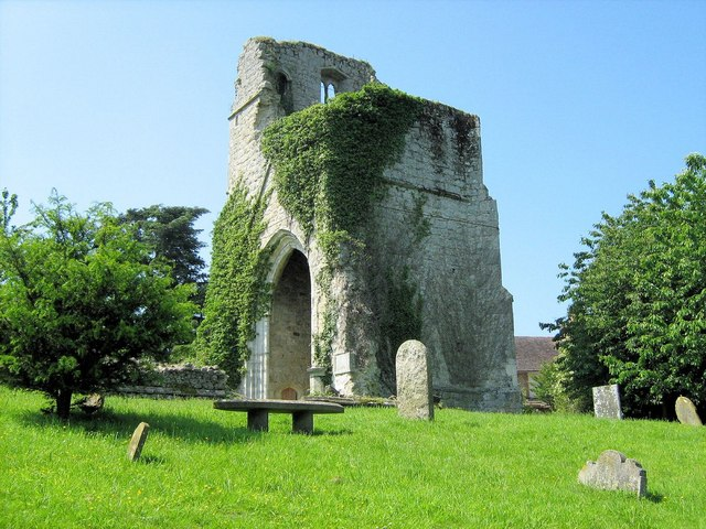 Ruined Church of St. Mary's at Little Chart