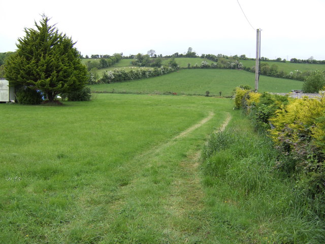 Countryside west of Drogheda