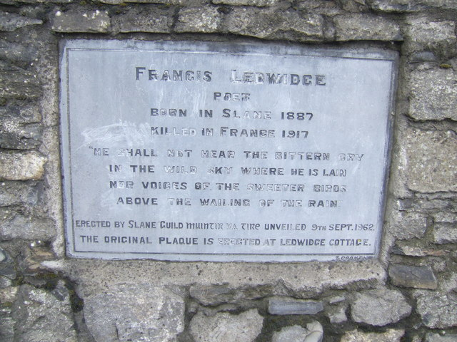 Francis Ledwidge memorial
