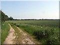 TL2057 : Track towards Hen Brook by Jeff Tomlinson