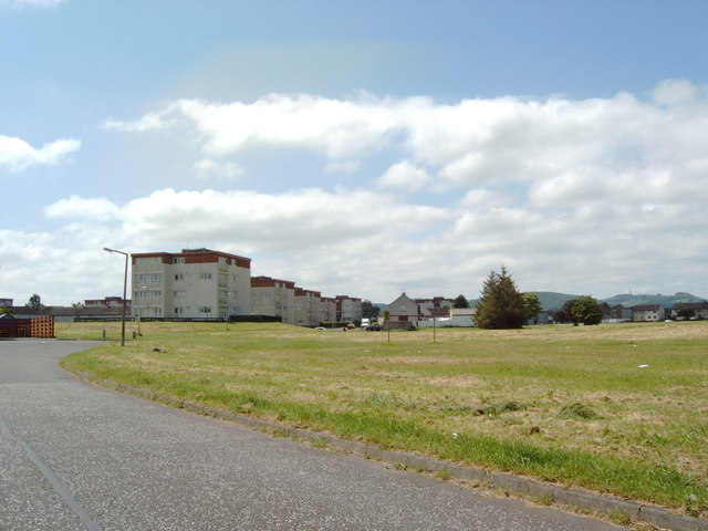 Lochside housing blocks