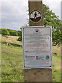SK3097 : Access Land Sign - Wharncliffe Moor by Wendy North