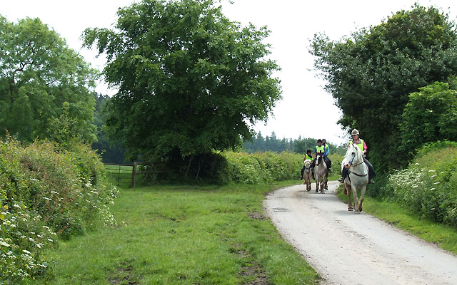 Riding on the Jack Mytton Way, Shirlett, Shropshire