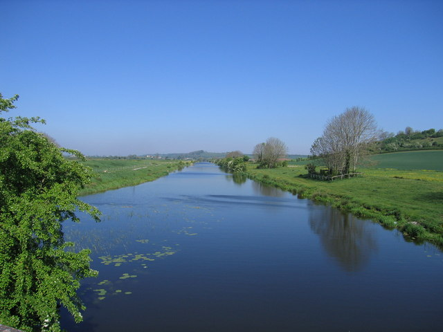 King's Sedgemoor Drain at Parchey Bridge