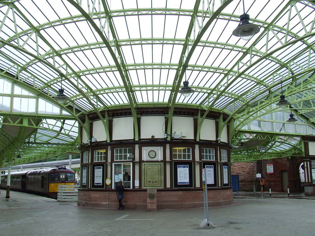 Ticket office at Wemyss Bay station