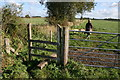 SJ3560 : Stile to Dodleston from Moor Lane by Paul Roberts