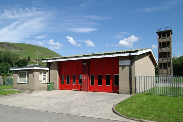 Ogmore Vale Fire Station