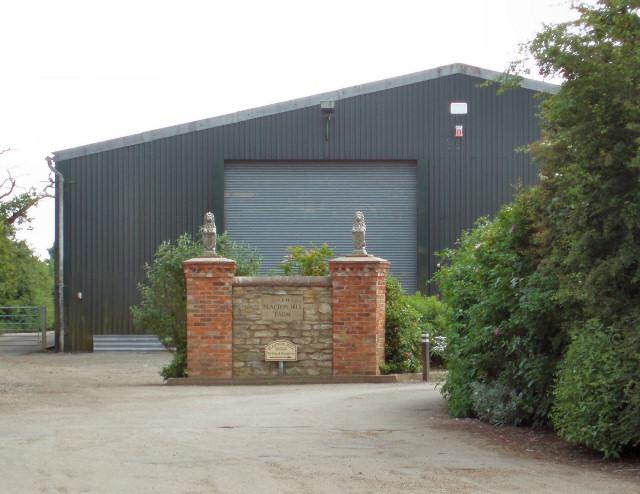 Entrance to Slapton Hill Farm