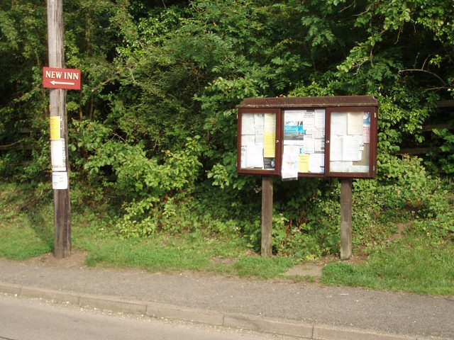 Abthorpe notice board