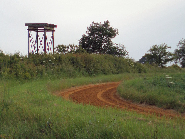 Remains of a water tower