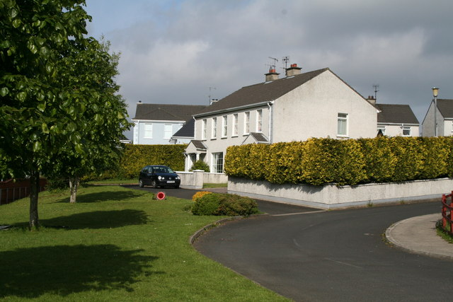 Houses off Thorn Road, Letterkenny