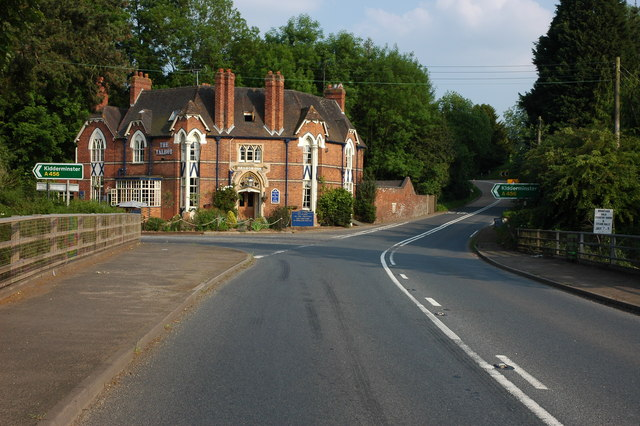 The Talbot Inn, Newnham Bridge