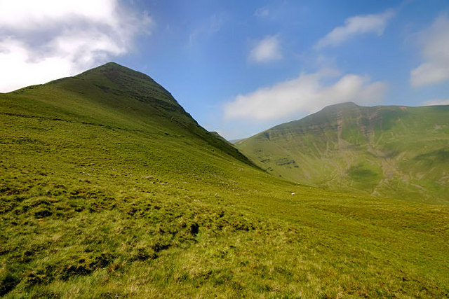 Cribyn with Pen y Fan behind