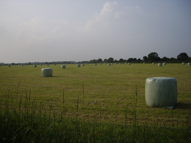 Bales, Filkins Farm, Gloucestershire