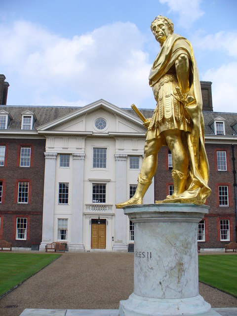 Charles II Statue, Royal Hospital