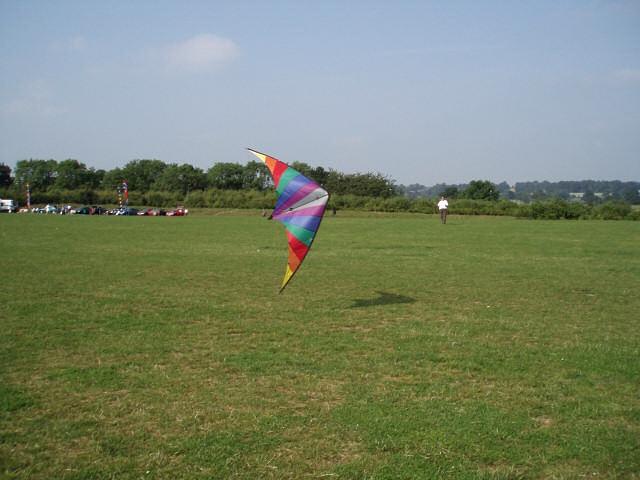 Kite flying in Balsall Common Community Park