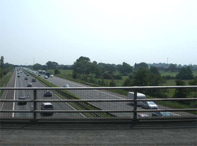 M6 near Alsager