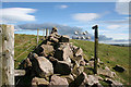 NU0027 : Radio Mast above Wooler by Dave Dunford