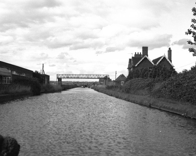 Stoke Works, Worcester and Birmingham Canal