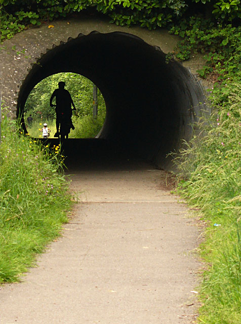 Cycle Track Tunnel