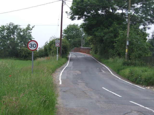 Weak Bridge over Mid Norfolk Railway Line, Westfield Lane, Dereham