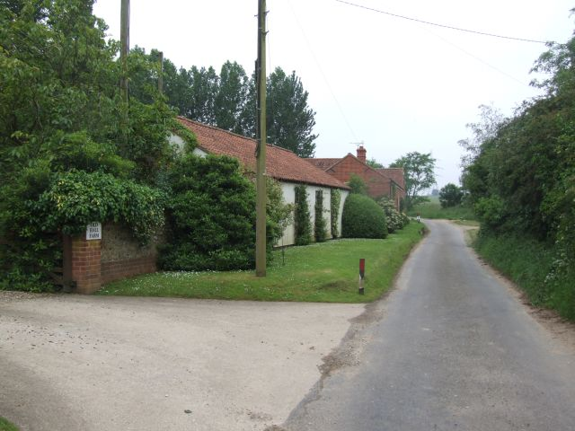 Old Hall Farm and Watery Lane