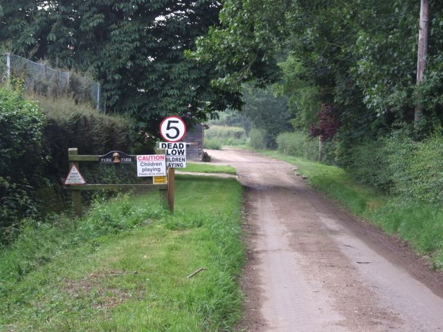 The End of the Road at Park Farm