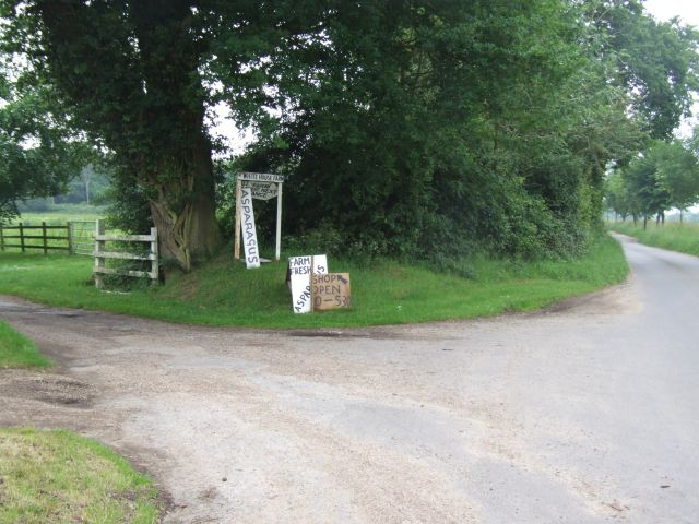 Entrance to White House Farm