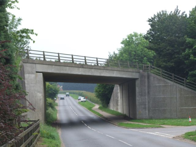 A47 Flyover at Scarning