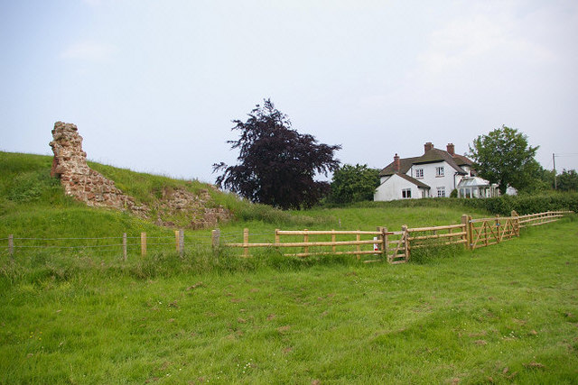 Remains of Shrawardine Castle