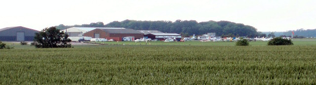 Turweston Airfield from the Westbury Circular Ride
