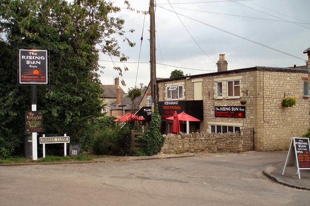 The Rising Sun Inn, Whitfield