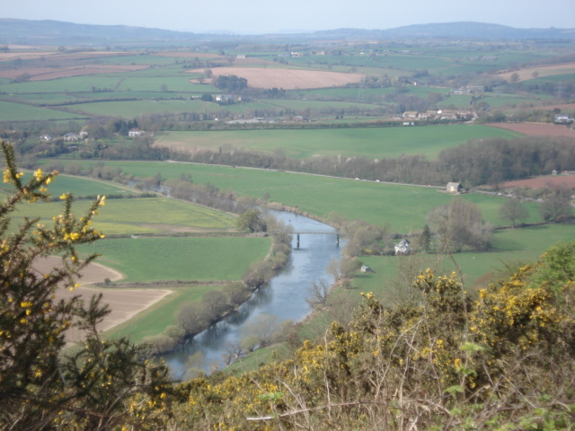 Wye Valley from Coppet Hill