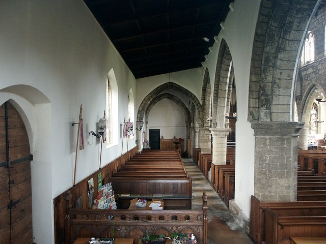 Interior of St Nicholas, Haxey