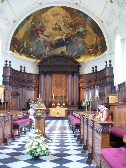 Royal Hospital Chelsea, the Chapel