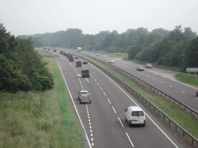 A1 northbound