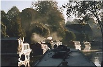 ST8260 : Below Bradford on Avon Lock - 2003 by Maurice Pullin