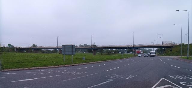 A47 Hardwick flyover