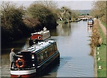 ST9060 : Semington Locks, Kennet & Avon Canal - 2004 by Maurice Pullin