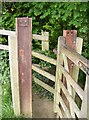 ST6432 : Squeeze kissing gate by Graham Horn