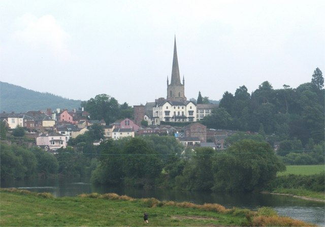 Ross-on-Wye from the Bypass